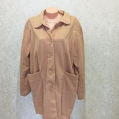 Мягкое,легкое пальто-кардиган 56-58р