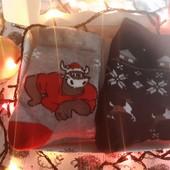 Носки новогодние в подарочной коробке❄