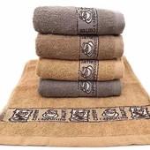 Лот 2 шт!Махровые полотенца отличного качества!Мягкие,нежные из 100% хлопка!