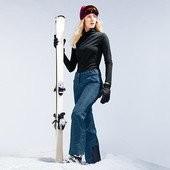 Теплющие функциональные лыжные штаны от Tchibo (Германия), размеры 42 евро