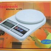 Электронные кухонные весы до 10 кг,Electronic sf-400, Rainberg rb-400