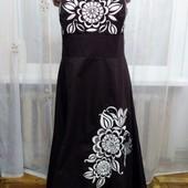 Будьте неотразимы! Новое Красивое нарядное платье бюстье Debenhams с вышивкой! размер 46-48 укр!