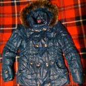 Курточка со съемным капюшоном