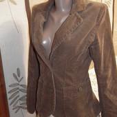 Идеальный вельветовый горчичный пиджак H&M