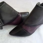 Кожаные ботинки-Сапоги MARC art of walking размер 39-40