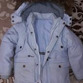 Зима куртка на 4-5лет смотрите замеры