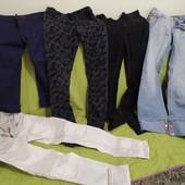 5 пар одним лотом. Штаны, джинсы, капри
