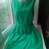 Очень красивое нежное платье,состояние хорошее,р.14,смотрите замеры