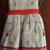 Шикарное платье в украинском стиле