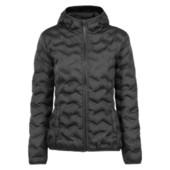женская легкая стеганая куртка капюшон Crane. Инновационная ультразвуковая склейка вместо сшивания
