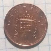Монета Великобритании 1 пенни 1994