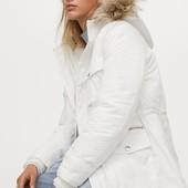 Утепленная парка с капюшоном зима H&M последняя в этом году !! Не пропустите