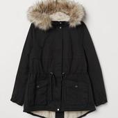 H&M+ Парка на подкладке зима, последняя в этом году !! Не пропустите