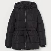 Утепленная куртка с капюшоном H&M зима. Последняя в этом сезоне. Не пропустите!!!