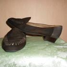 Туфли, мокасины, лоферы, натур. кожа+замша 40-41 размер, Австрия, очень удобные. Стелька 26,5 см