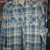 Рубашка для мальчика .На рост 158.Замеры в описании