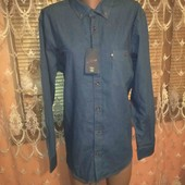 джинсовая турецкая рубашка большого размера батал смотрите замери