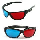 3D очки, анаглифные.