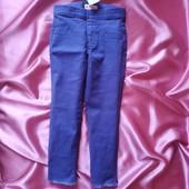 Стрейчеві джинси на резинці для маленької модниці, м'які та зручні