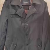 Стильная куртка, полупальто 48 размер, смотрите замеры