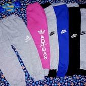 Спортивные штаники Adidas,Nike, Brawl  stars и Мишки ! Тепленькие