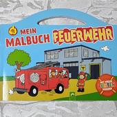 Книга-раскраска о пожарной команде by Lidl Германия