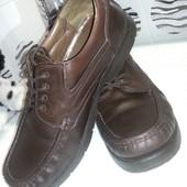 Туфли кожаные Clarks 45 размер(11), стелька 29 см