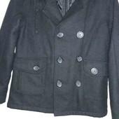 Пальто для мальчика на 8-10лет шерсть в составе