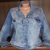 Фирменная джинсовая куртка Papaya р.18