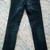 Темно-синие джинсы S, отличное состояние + теплая футболочка Kira Plastinina XS