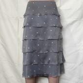 Очень красивая лёгкая юбочка на подкладке,2xl/3xl