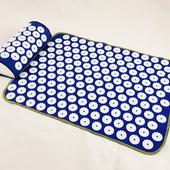 Набор коврик акупунктурный массажный + подушка Аппликатор Кузнецова