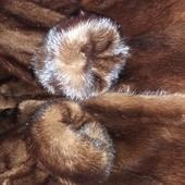 Шуба норковая натуральная размер S/M