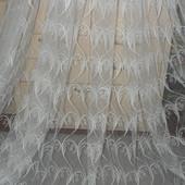 Фатин с оригинальной вышивкой! Турция! Шикарное качество! 4,4м