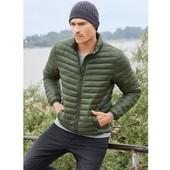 Ультралегкая, теплая деми-куртка с капюшоном, livergy, размер указан 56/58