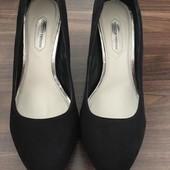 Туфли замш искуственный Dorothy Perkins 38 размер