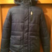 Куртка. еврозима 13 лет 158 см, Here&There+C&A. состояние отличное