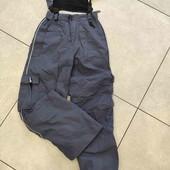 Лыжные брюки на рост  до 168 см с