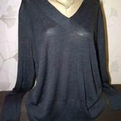 На пышные формы. 30% шерсть. тонкий, красивый тёплый свитер