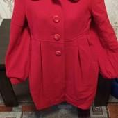 Пальто красное дешево Бесплатная доставка свыше 5 ставок укрпочта