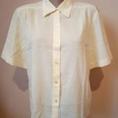 Рубашка лимонного кольору стан нової , 100% котон