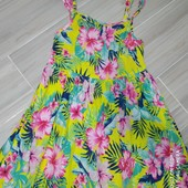 Платье летнее лёгкое и очень красивое 6-7лет замеры на фото