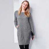 Стильное платье из плотной ткани для деми-сезона от Tchibo(германия) размер 44 евро=50-52