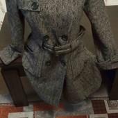 Распродажа серое пальто Бесплатная доставка свыше 5 ставок укрпочта