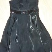 TU Красивое черное платье на 4-6лет замеры на фото