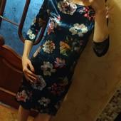Последнее! Шикарное платье с бархата, в наличии р.44