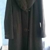 шерстяне пальто 64_ 66 р.