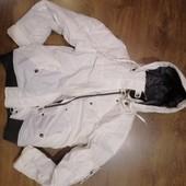 Лыжная спортивная женская куртка, С-М, состояние отличн