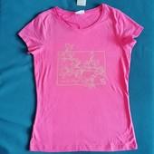Блиц-цена! Классная футболка фирменная Рерсо! Размер S! хлопок! замеры!