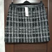 Фирменная новая теплая красивая юбка р.14-16